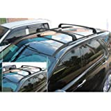 4PCS Black Roof Rack + Cross bar For Land Rover New Discovery Sport 2015-2018 Baggage Rail