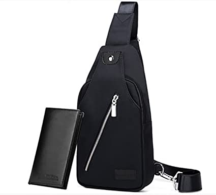 Women Crossbody Bag Music Messenger Bag Chest Pack Rucksack All-Purpose Travel Casual Purses