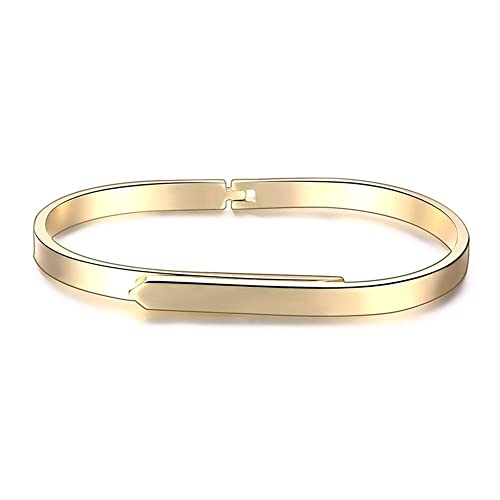1e82cf14f6028 Amazon.com: Marwar Women's Stainless Steel Nail Love Bangle Bracelet - Rose  Gold color Box included: Jewelry