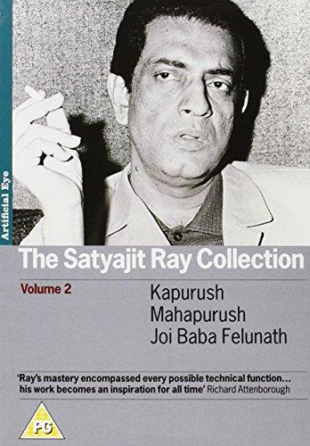 The Satyajit Ray Collection Vol. 2 3-DVD Set ( The Coward / The Saint / The Elephant God ) ( Kapurush / Mahapurush / Joi Baba Felunath ) [ NON-USA FORMAT, PAL, Reg.2 Import - United Kingdom ] by Artificial Eye