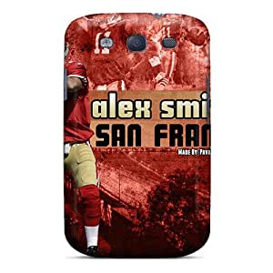 Premium VYG18800wVMX Case With Scratch-resistant/ San Francisco 49ers Case Cover For Galaxy S3