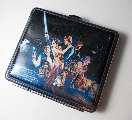 - Vintage Star Wars Poster Art Cigarette Case Wallet Card Holder