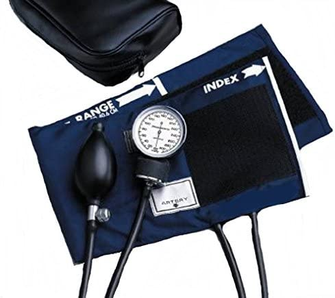 McKesson Aneroid Sphygmomanometer Pocket Style, Hand Held. 2-Tube, Child, Arm – 1 Each