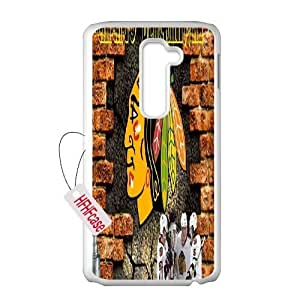 HFHFcase High Quality Case for LG G2, Blackhawks LG G2 Phone Case