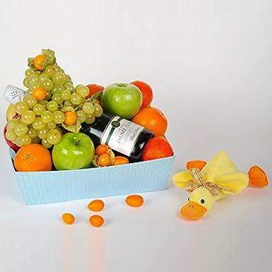 Regalo para nacimientos: Cesta de Fruta Marco - Envío a casa u hospitales: Amazon.es: Alimentación y bebidas