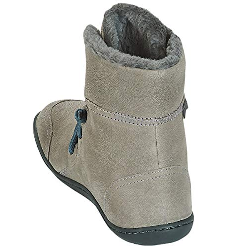 Cami Camper Botines Medium Gray para Mujer Peu PxqS5w7