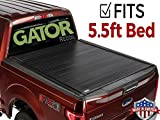 Gator 2015-2019 Ford F150 5.5 Bed Recoil Retractable Tonneau Truck Bed Cover (G30373) (Matte) Made in The USA