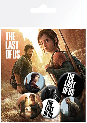 GB Eye LTD, The Last of Us, Ellie And Joel, Set de Boutons