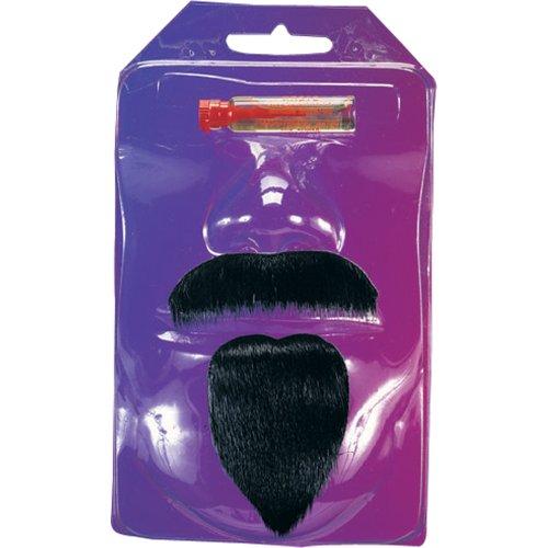 Rubie's Costume Spanish Gaucho Moustache Set, Black, One Size