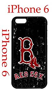 Boston Red Sox iPhone 6 4.7 Case Hard Silicone Case by icecream design