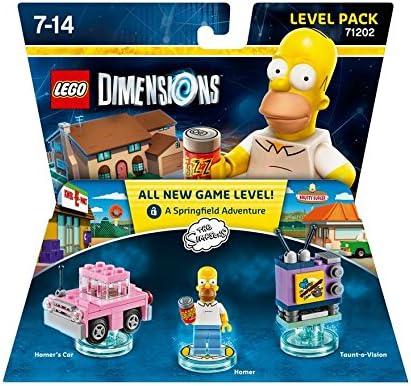 LEGO Dimensions Level Pack Simpsons - Juegos de construcción, 7 ...