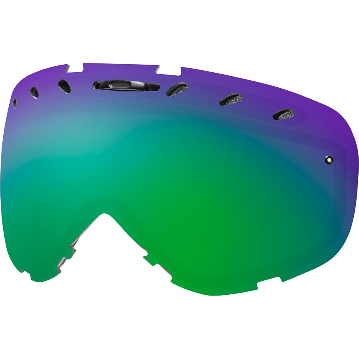 SMITH OPTICS PHENOM LENS GREEN SOL-X MIRROR VLT 15% ERSATZSCHEIBE