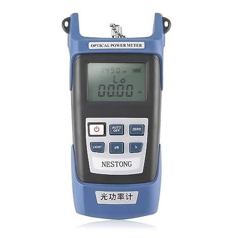Lorenlli Medidor de potencia de fibra óptica de alta precisión -70 ~ + 10dBm SC