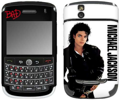 MusicSkins, MS-MJ10033, Michael Jackson - Bad, BlackBerry Tour (9630), ()