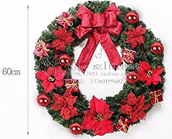 christmas garland for stairs fireplaces christmas garland decoration xmas festive wreath garland with christmas wreath with - Fireplace Christmas Decorations Amazon