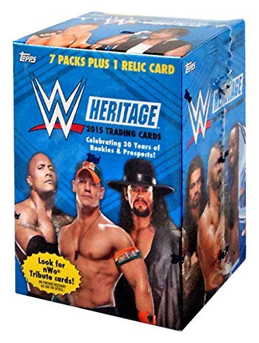 (TOPPS COMPANY 2015 Topps WWE Heritage Value Box)