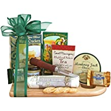 Meat and Cheese Board Gift | Cheese, Crackers, Sausage, Nuts and More