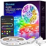 Govee LED Strip Lights RGBIC, 16.4FT Bluetooth