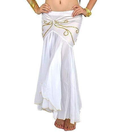 Calcifer - Falda de Gasa para Danza del Vientre, Disfraz de Baile ...