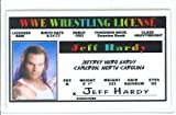Jeff Hardy - WWE - Collector Card