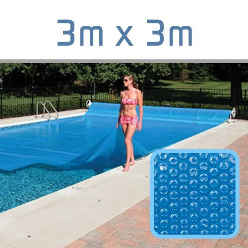 Linxor ® Cubierta a burbujas a medida para piscina 300 micras / 70 tamaños disponibles / Norma CE
