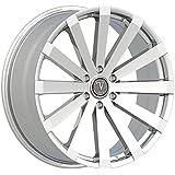 Amazoncom 24 Velocity Vw12 Wheels 24x95 Offset25 Chrome Rims