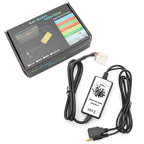 Yatour Bluetooth Car Adapter Music Changer MP3 Phone GPS