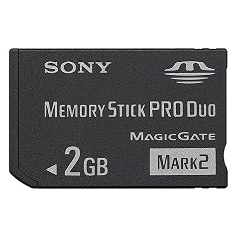 Sony MSMT2G Memory Stick Pro Duo Mark2 PSP 2 GB - Tarjeta de ...