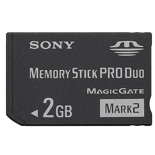 Sony 2 Duo - SONMSMT2G - Sony 2 GB Memory Stick PRO Duo