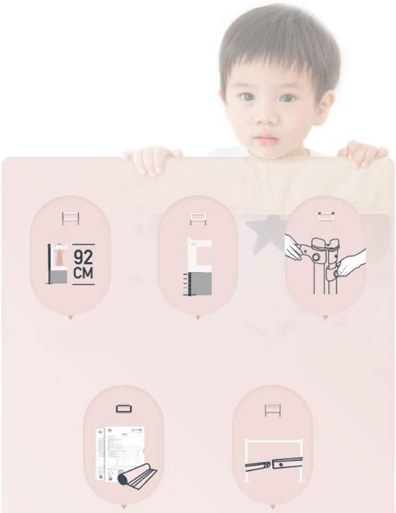 Size : L-150cm Rosa 200 cm 180 cm Barandilla RQ Baby Child Bedside Barrera de Cama irrompible 150 cm