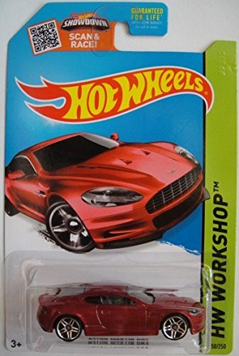 Hot Wheels, 2015 HW Workshop, Aston Martin DBS [Maroon] #250/250