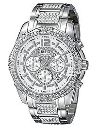 GUESS Men's U0291G1 Analog Display Quartz Silver Watch