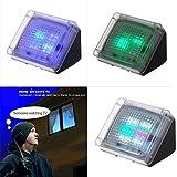 Light Seller® Home Security TV Simulator, Extra Bright LED Light Burglar Deterrent Device with Built-in Light Sensor Timer (Fake-TV)