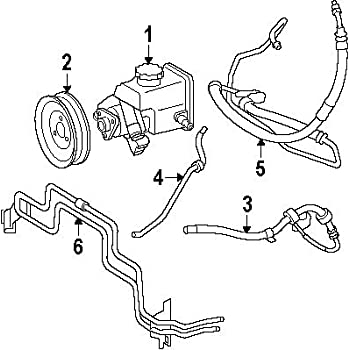 Amazon Com Power Steering Pressure Hose Meyle 0592020001 Mercedes