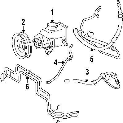 Amazon Com Mercedes Benz 211 466 08 81 Power Steering Pressure