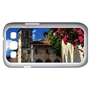 Castle - Watercolor style - Case Cover For Samsung Galaxy S3 i9300 (White)