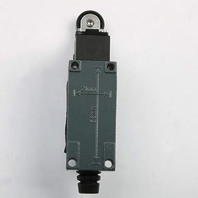 Mini Interruptor de L/ímite AC 250V 5A DC 115V 0.4A Palanca Giratoria Mini Interruptor de L/ímite Micro Interruptor