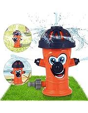 Sunshine smile Water Sprinkler Speelgoed, Hydrant Water Sprinkler voor Kinderen, Sprinkler Kind, Hydrant Sprinkler voor Kinderen, Splash Play Toy, voor Kids Zomer Outdoor Play