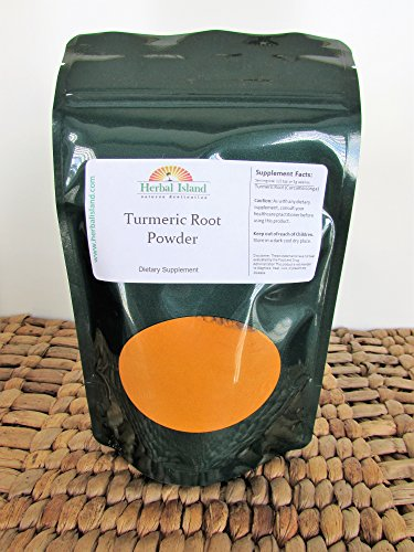 51dvhoy9gPL - Tumeric Root Powder 4oz (Turmeric - Curcuma Longa) with Free Shipping