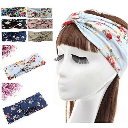 Habibee Women Headbands Turban Headwraps Hair Band Bows Accessories for Fashion Or Sports