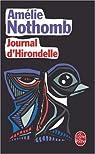 Journal d'Hirondelle par Nothomb