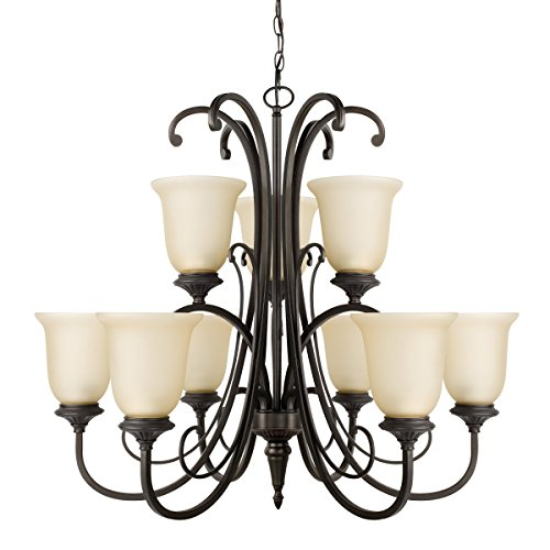 Globe Electric 65572 Beverly Chandelier