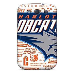 New Arrival Cover Case With Nice Design For Galaxy S3- Charlotte Bobcats