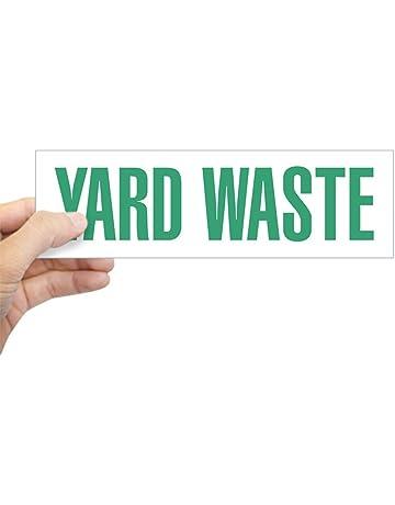CafePress Yard Waste Sticker 10