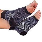 Plantar Fasciitis Compression Socks,Vamotto Plantar Fasciitis Compression Sleeves Ankle,Compression Foot Sleeves for Men