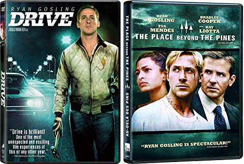 Ryan Gosling Getting Crazy: Drive + The Place Beyond The Pines (2 feature film Serious Man pack DVD Bundle)