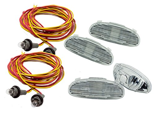 Alpinetech RB-3000A Running Board Lights Replacement Kit for Ford Excursion GMC Yukon Chevy Silverado