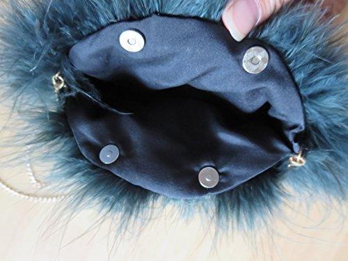 al talla DTLDWN Marino para hombro Azul única Bolso mujer 6wSOSq5X