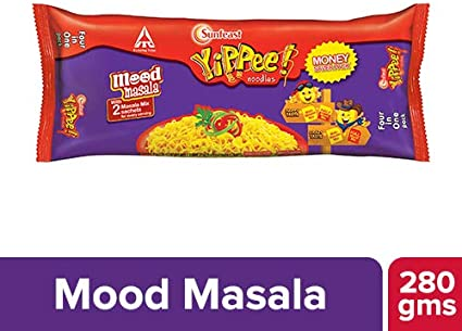 Sunfeast YiPPee Mood Masala Noodles money saver Pack, 280 g
