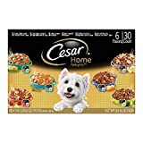 Cesar Home Delights Wet Dog Food, Variety Pack (3.5 oz., 30 ct.) by Cesar